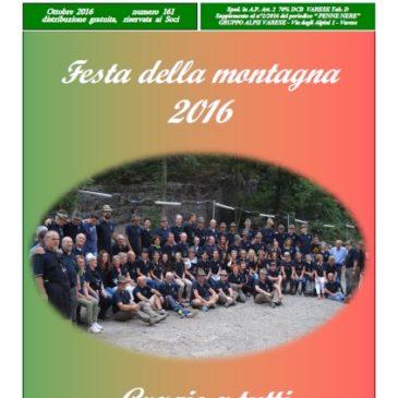 Notiziario Ottobre 2016