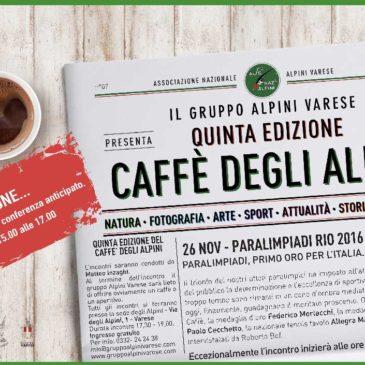 Al Caffè degli Alpini, si parla di Paralimpiadi