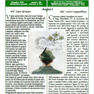 Notiziario Dicembre 2016