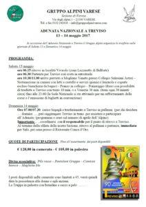Adunata Nazionale Treviso 2017