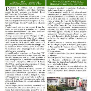 Notiziario Marzo 2017