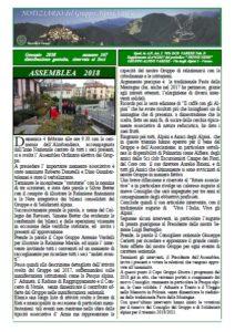 Notiziario n 1 2018