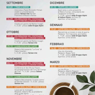 IL CAFFE' DEGLI ALPINI 2018-2019
