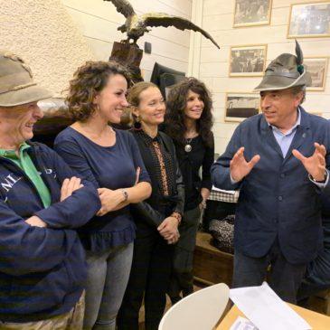 Consegna dei primi due contributi al Parco Gioia e all'Associazione Pane di Sant'Antonio