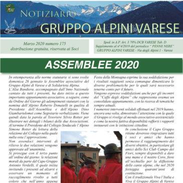 Notiziario Marzo 2020