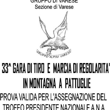 33° GARA DI TIRO E MARCIA