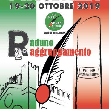 PIACENZA 19-20 OTTOBRE 2019