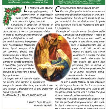 Notiziario Dicembre 2019